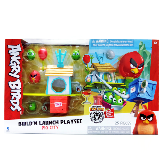 Angry Bird Build N Launch