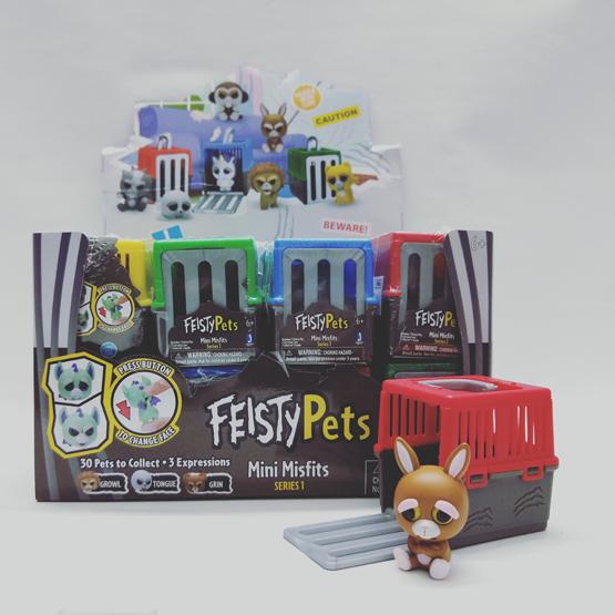 """Feisty Pets 2"""" Mini Misfits"""